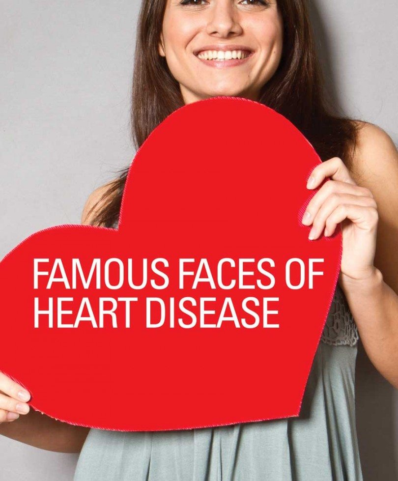 Celebrity with heart disease
