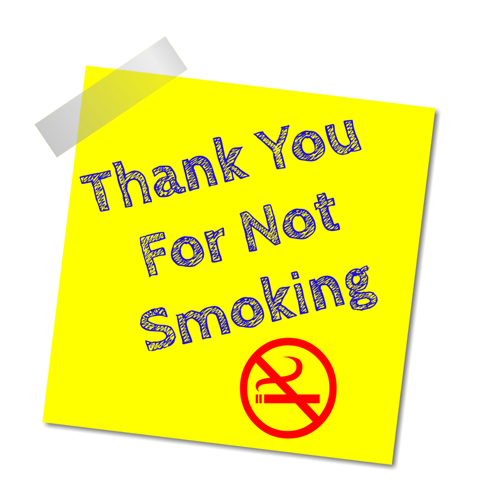 Thank-you-for-not-smoking-sign