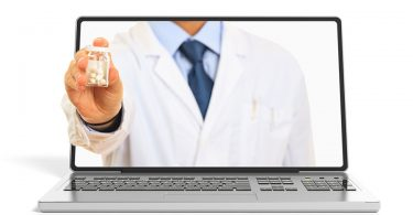doctor-handing-pills-through-computer-screen