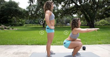 exercising-woman-basic-squat